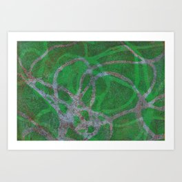 Abstract No. 125 Art Print