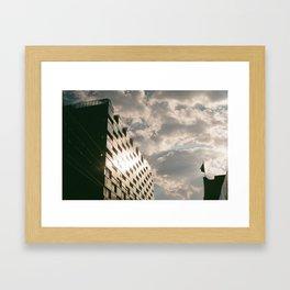 Glass Building Framed Art Print