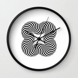 Optical illusive infinity Wall Clock