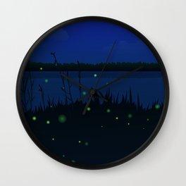 summer night Wall Clock