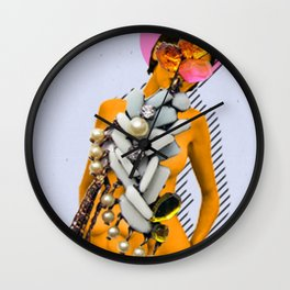 Russian Woman Wall Clock