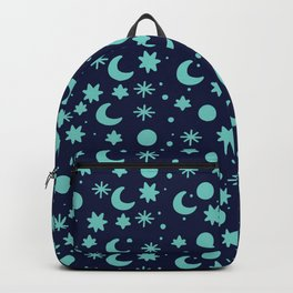 Cosmis space in blues colors Backpack