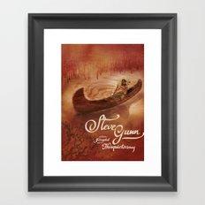 Steve Gunn + Thisquietarmy Framed Art Print