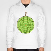 labyrinth Hoodies featuring Labyrinth by KATUDESIGN