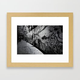 'Mutton Lane' Framed Art Print