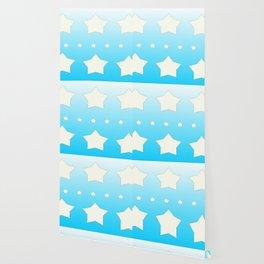 Star patchwork Wallpaper