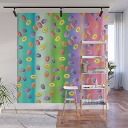 Raining donuts Wall Mural