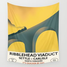 Ribblehead Viaduct Yorkshire Wall Tapestry