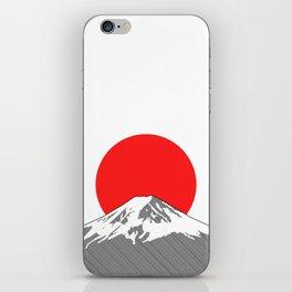Rising Sun iPhone Skin