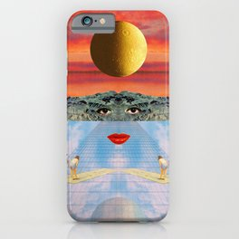 Eyes, lips & dreams iPhone Case