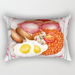 Full English Breakfast Rectangular Pillow