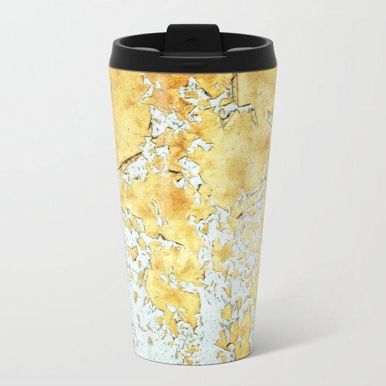 Gold #society6 #decor #buyart Metal Travel Mug