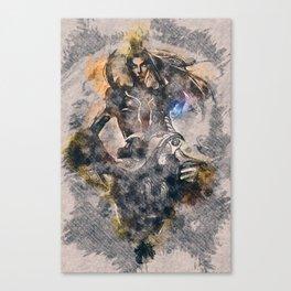 Pulsefire Caitlyn - League of Legends Canvas Print