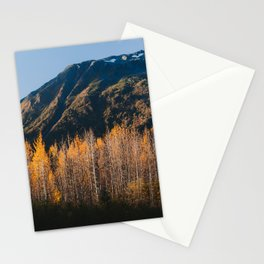 Autumn in Kenai Fjords National Park II Stationery Cards
