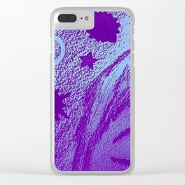 Cosmic Girl Clear iPhone Case