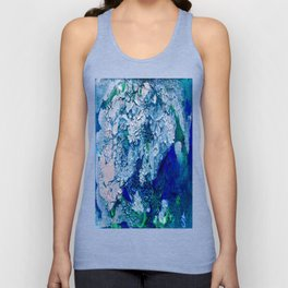 Imagined Ocean View From Above Unisex Tank Top