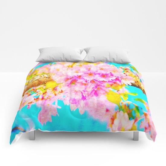 Pastel beauty Comforters