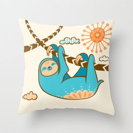 Just Hang In There Throw Pillow