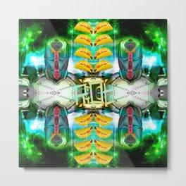 RoboTaco Metal Print