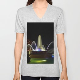 JC Nichols Memorial Fountain Unisex V-Neck