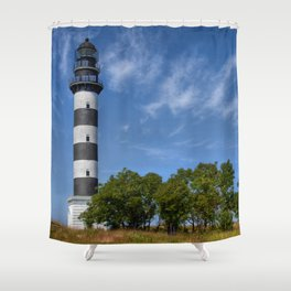 Osmussaare Island Lighthouse Shower Curtain