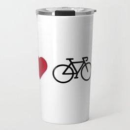 love my bike Travel Mug
