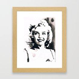 MARILYNMONROE Framed Art Print