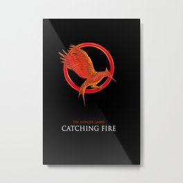 Chatching Fire Metal Print