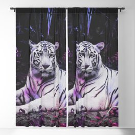 Tiger Tiger Burning Bright Blackout Curtain