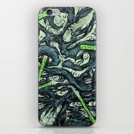 Psyesquivel 03 celery iPhone Skin