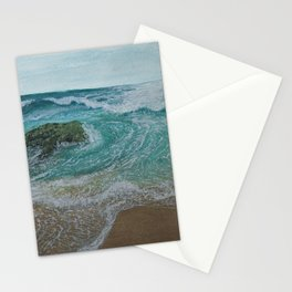 Seascape 'Waves at Play 1' Stationery Cards