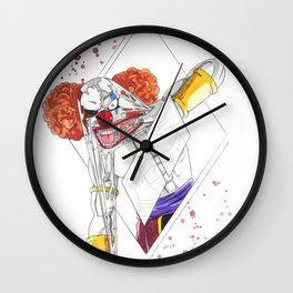 Face Off - Vermouth Wall Clock