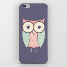 Owl Have Doughnuts iPhone & iPod Skin