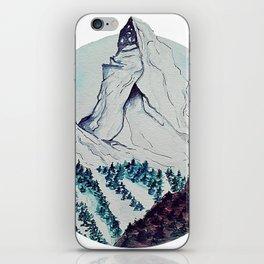 Matterhorn iPhone Skin