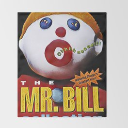 Mr. Bill - Graphic 1 Throw Blanket