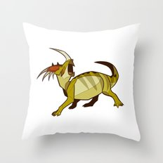 Styracosaurus Throw Pillow