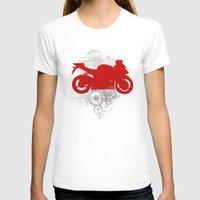 racing T-shirts featuring Racing by Ezgi Kaya