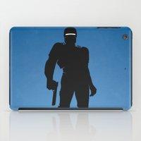 robocop iPad Cases featuring RoboCop by Nick Kemp