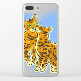 SmoochyCats Clear iPhone Case