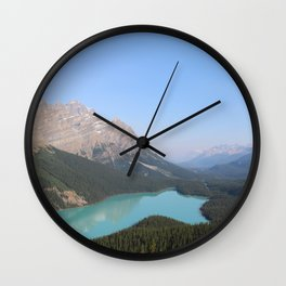 Peyto Lake Wall Clock