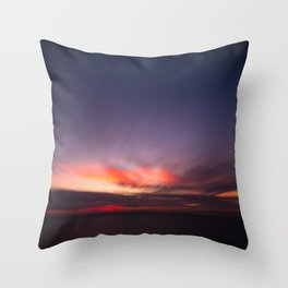 Malibu Sunrise B3 - California Ocean Sunrise Throw Pillow