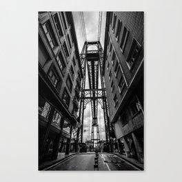 Portugalete suspension bridge Canvas Print