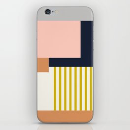 Sol Abstract Geometric Print in Multi iPhone Skin