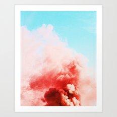 Candy Smoke #society6 #decor #buyart Art Print