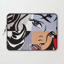 Lichtenstein's Girl Laptop Sleeve