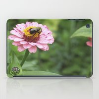 rileigh smirl iPad Cases featuring Flower and Bee by Rileigh Smirl