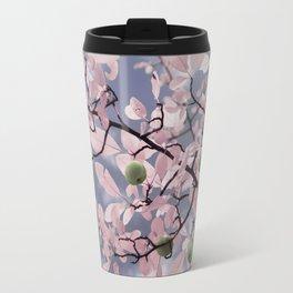 Pink Crabapple Tree Travel Mug