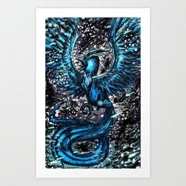 Team Mystic Blue Art Print