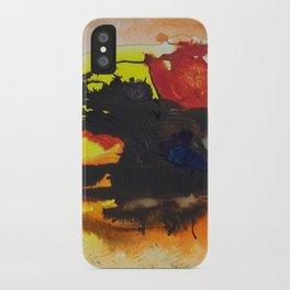 (falling) Tree Limbs iPhone Case