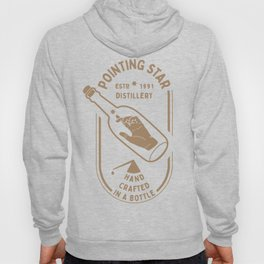 POINTING STAR HAND IN THE BOTTLE Hoody